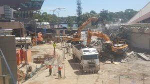 Adelaide Festival Centre Precinct Upgrade Early Works – Demolition 2