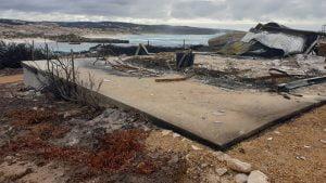 kangaroo island bushfire demolition clean up